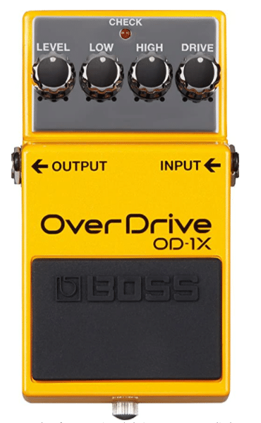 Efecto Overdrive - BOSS-OD-1X